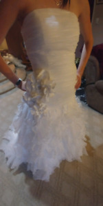 Wedding dress & 2 vals