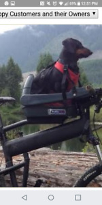 Buddy Rider bike seat for dogs