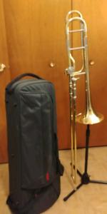Yamaha large bore Trombone YSL682B