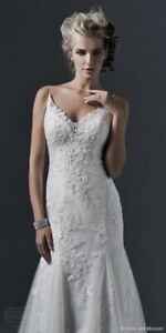 Wedding Gown NEW Sottero & Midley Couture and Veil