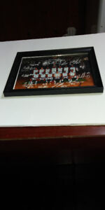 RIVER LIONS ST. CATHARINES  BASKETBALL TEAM  PHOTO AUTOGRAPHED