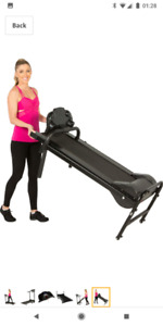 Folding Electric Treadmill Great for Condos!