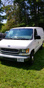 E2500 Ford Cargo Van, Must sell! B.O.