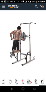 Gold's Gym XR 10.9 Power Tower Pull up push up  exercise bar