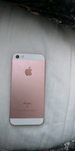 Iphone se rose 32gb