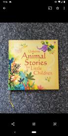 Usbore book animal story - like new