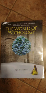 The World Of Psychology. Eighth Canadian Edition