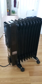 Portable heater 2000W twin settings