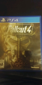 Fallout 4 for sale or trade for skyrim