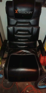 X Rocker leather game chair