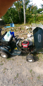 Yard works lawn tractor for parts or repair