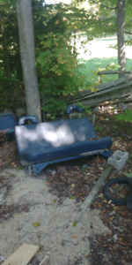 Chevy bench seat.