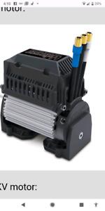 New Xmaxx motor, heatsink, and fan