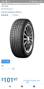 Used once - Weathermaxx winter tires