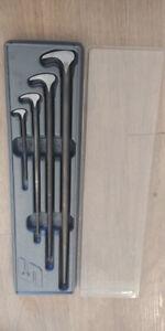 Snap-On 4pc Ladyfoot Prybar Set
