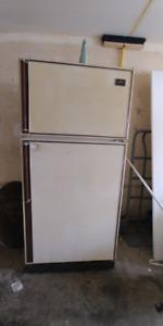 matching fridge and stove