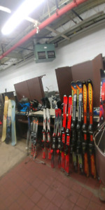 Quality skis, snowboards and boots for sale at J Liquidation