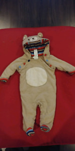 Baby bunting suit