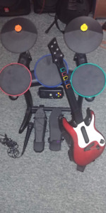 Cordless Drums/Guitar for Xbox 360/PC
