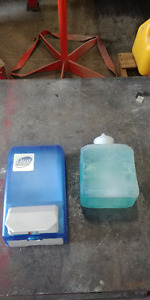 Dial Soap Dispenser and Soap Refill