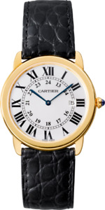 Cartier Ronde Solo Or Jaune 36mm