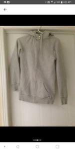 $10$ TNA Sweater Grey & Lime Green (Size XXS)