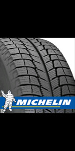 215/60/16 Michelin x-ice winter tires