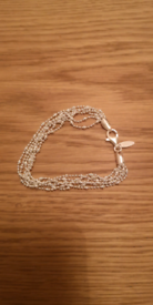 New Delicate Adult Sterling Silver Bracelet