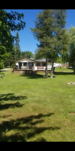 Waterfront cottage for rent on Pigeon lake. Sleeps 6 and A/C