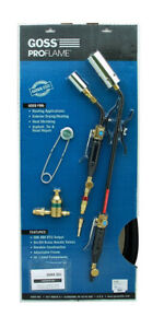 NEW Goss KP-350Q-H Master Combo Extension Heat Torch Kit