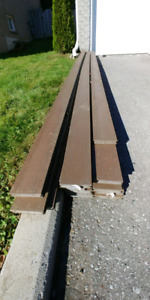 Composite Brown Deck Boards NEW 50% OFF
