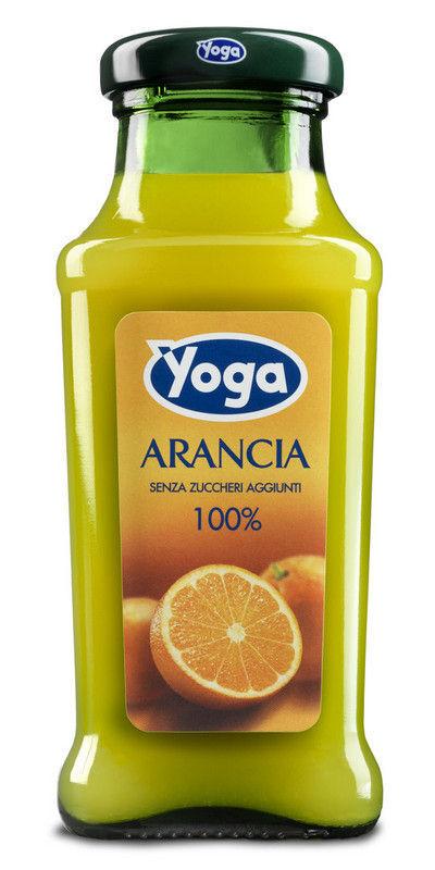 21,50 € per Yoga Arancia Cl20 X24 Bottigliette Vetro Succo Di Frutta Gusto Arancia su eBay.it