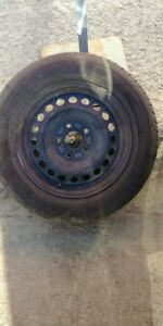 four summer tire with rim size  195 /65/15