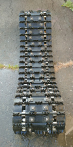 Chenille track crampons 120x1.250x15 2.86 ripssaw 1 1/4 piner