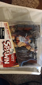 Billy Kincaid action figure nib