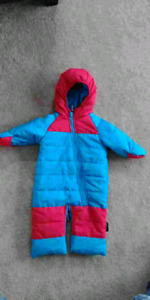 Bunting or snow suit