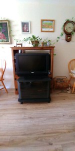 """28"""" HDTV and Stand"""