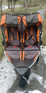 B.O.B. REVOLUTION SE DUALLIE STROLLER WITH WEATHER SHIED