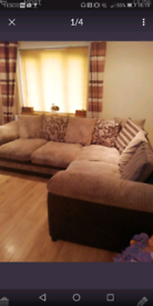 Corner sofa plus swivel chair all very good condition