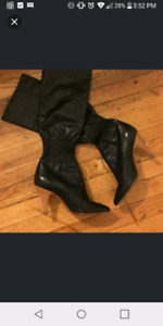 Chanel knee-high Boots