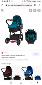 Mothercare Journey Teal