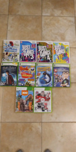 Wii & xbox 360 games
