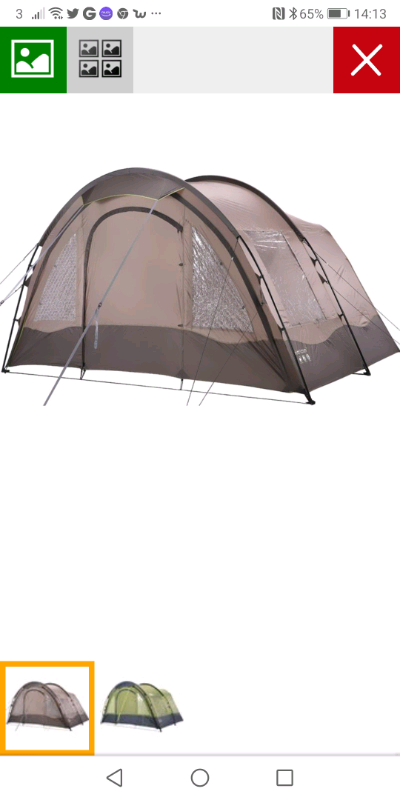 Horizon 10 end porch tent canopy brand new never used | in Totterdown,  Bristol | Gumtree