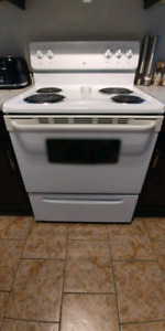 Electric White Westinghouse Stove