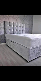 Divan bed all sizes and colours FREE DELIVERY