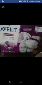 Two electric breast pumps and more
