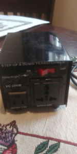 POWERBRIGHT TRANSFORMER - STEP UP AND DOWN - VC 200 WATT