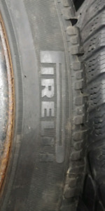 Pirelli winter tires 70% tread 225 45 18