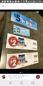 Pediasure and Similac coupons for trade