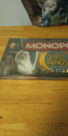 Lord of the rings monopoly brand new sealed